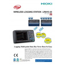 WIRELESS LOGGING STATION HIOKI LR8410