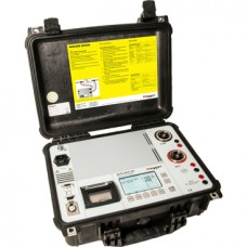 200 A micro-ohmmeter with DualGround safety MJOLNER200