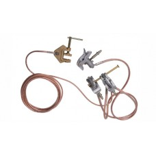 WIS20-35 - Short circuiting and earthing equipment for MV overhead bare conductors with screw clamps type SNAP-ON